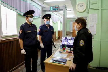 Росгвардия проверила безопасность рязанских образовательных учреждений