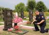 В Рязани почтили память милиционера, погибшего от рук преступников