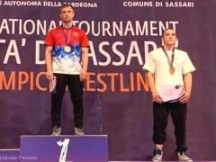 Борец рязанской спортшколы «Антей» Артем Ерохин стал бронзовым призером турнира в Италии