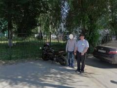 Полицейские задержали рязанца, управлявшего мотоциклом без прав