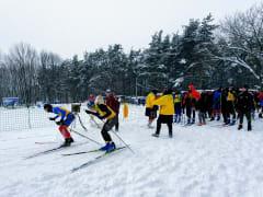 В Рязани завершился первый день первенства и чемпионата города по лыжным гонкам