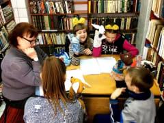 Театральный урок в библиотеке