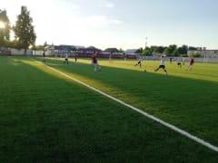 В Рыбновском районе прошли очередные игры по футболу