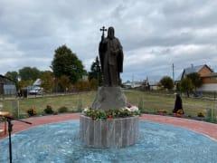 В Рязанской области открыли памятник крестителю Русской Америки