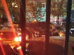 Соседи засняли ночной визит Логуновых к «опечатанной» машине
