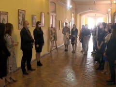 Институт Конфуция представил выставку китайской живописи