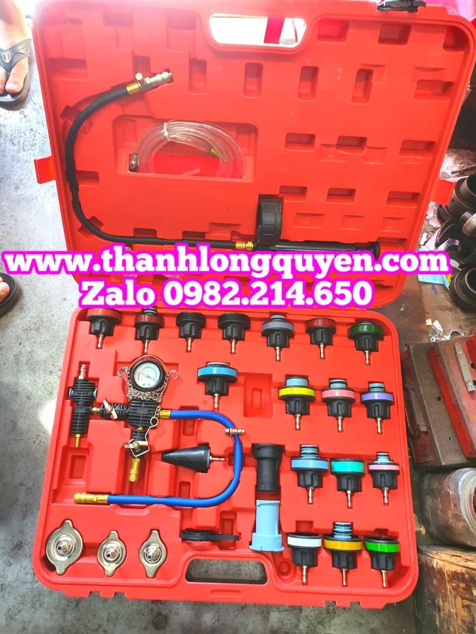 bộ thử kín két nước kiểm tra rò rỉ két nước hệ thống làm mát 28 chi tiết