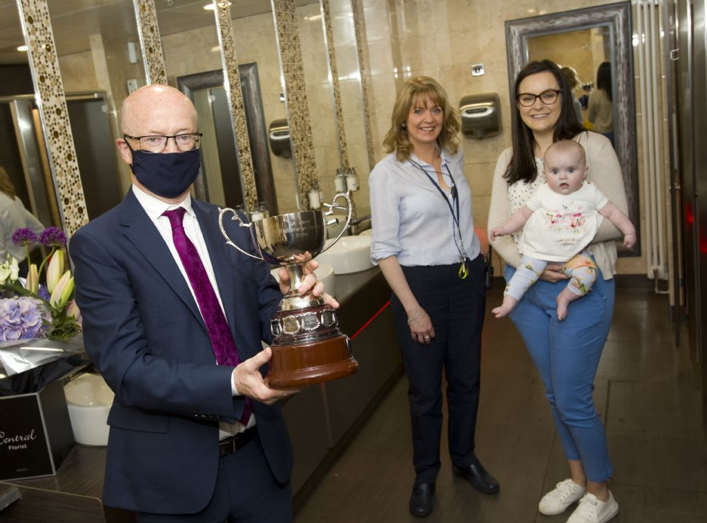 Buttercrane Bathrooms Win National Award