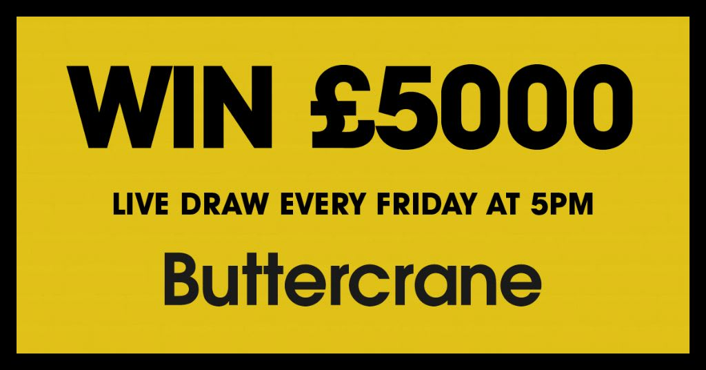 Win £5000 at Buttercrane this Christmas