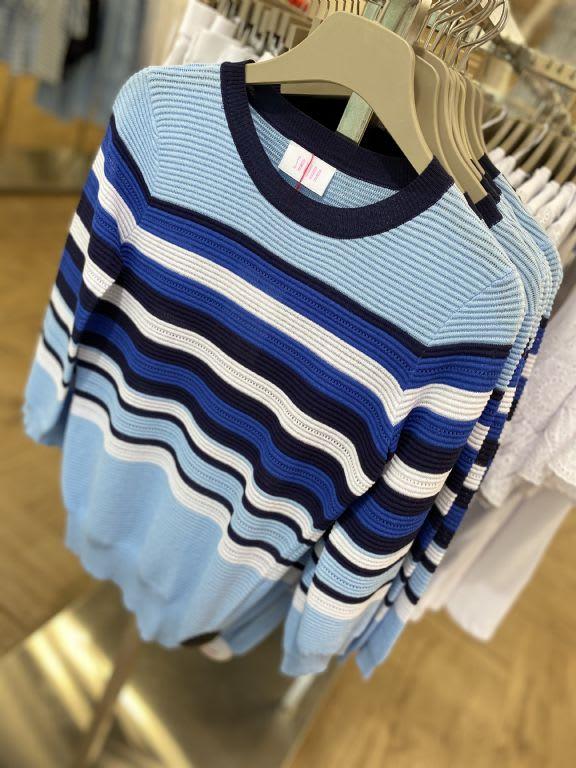 block stripe light weight knit 17 savida at dunnes stores