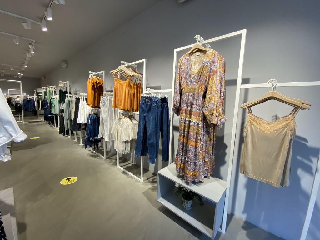 new denim and midi dress arrivals at vila - from 40