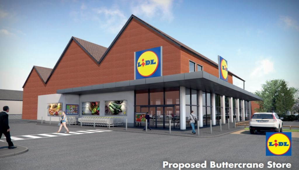 Work Starts on New £5M Buttercrane LIDL