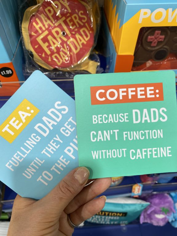 fathers day coasters  199 the card factory