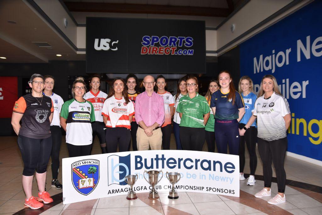 Buttercrane Supports Armagh LGFA Senior Football Championship