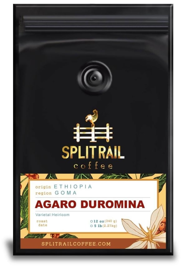 Ethiopian Agaro-Duromina is a single origin, small batch coffee with a fruity and honey sweet flavor
