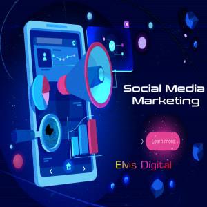 social media marketing featured image for Elvis Digital