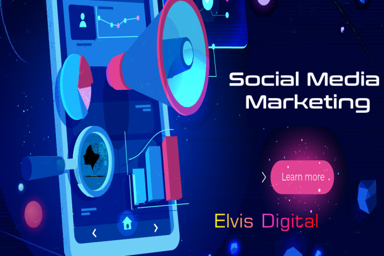 social media marketing featured image for Elvis Digital