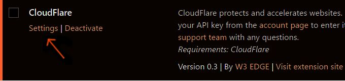 W3-Total-Cache-CloudFlare-Activation