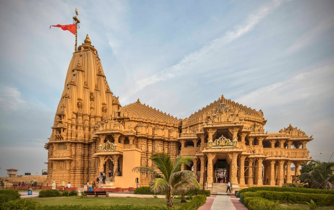 Somnath Temple, Junagadh best places of Gujarat
