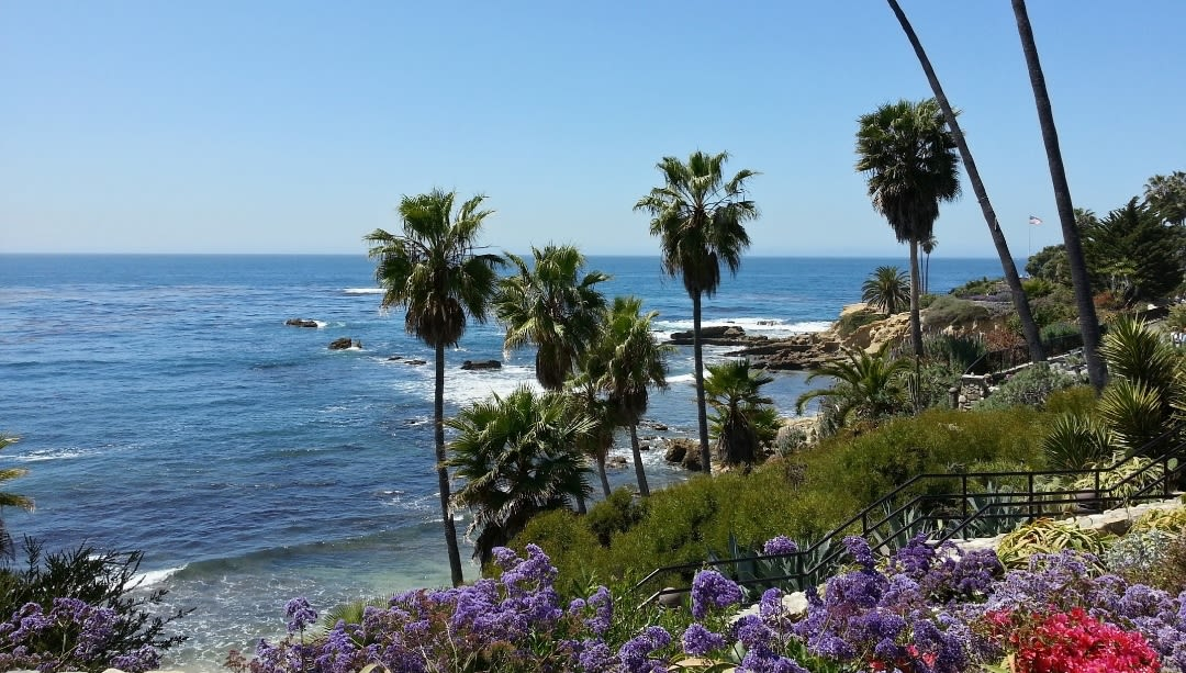 Laguna Beach in California