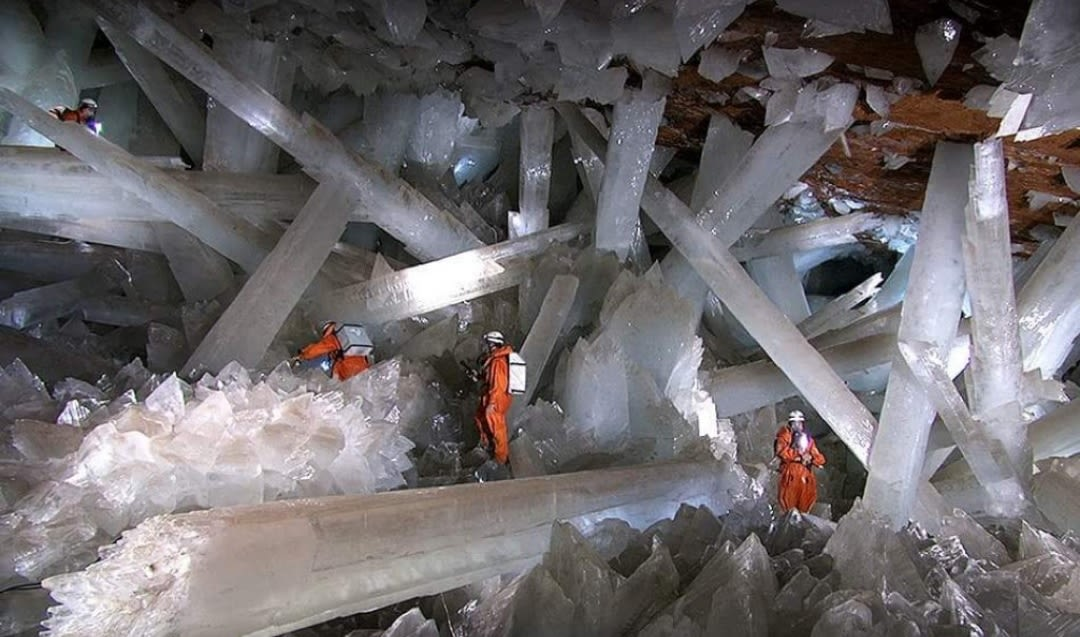 Cave of crystals unreal places in the world