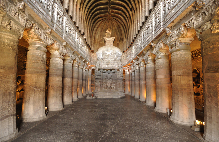 Ajanta-Ellora-caves-best-places-in-Maharashtra