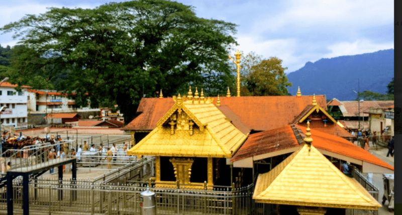 Sabarimala Ayyappa golden tamples in india