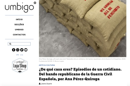 Ana Pérez-Quiroga | Umbigo