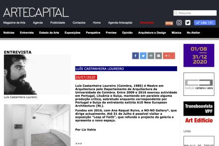 Artecapital | Entrevista