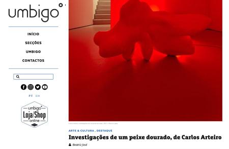 Carlos Arteiro | Investigações de um peixe dourado