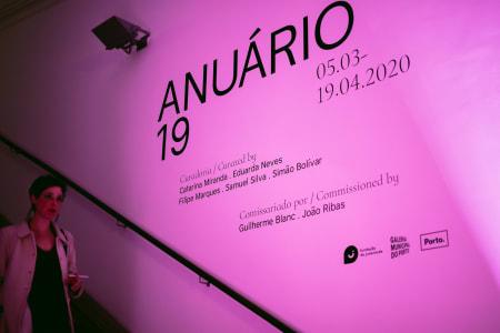 Carlos Arteiro e Carlos Mensil no ANUÁRIO19