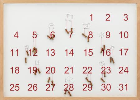 Cubo Calendário 801