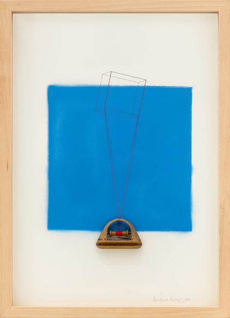 Cubo Azul ultramarino 805