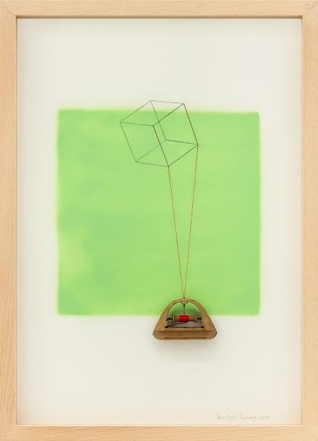 Cubo Verde absinto 808