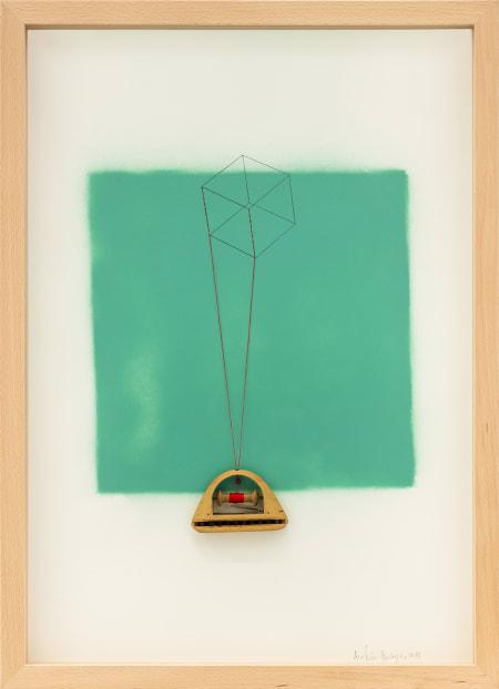 Cubo Verde esmeralda 810