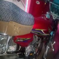 Honda 125 red color