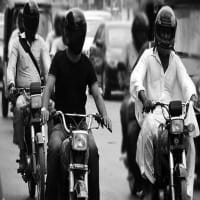 Karachi Traffic Police Initiated a Drive Against Motorcyclist without Helmet