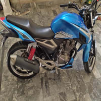 Crazer 150cc havey bike Golden number urjent sail