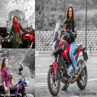 International Female Motorcyclist Tourists Visit Pakistan