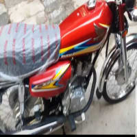 Honda CG125 unregistered