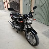Yamaha ybz 125 Black