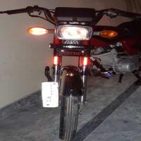 Honda 125 Golden Number