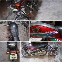 Honda CD70.