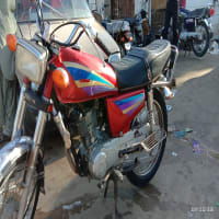 Urgant Sale Honda CG 125 Hyderabad Srif Book Hai