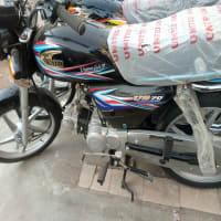 brand new United 70cc alloyrim bike