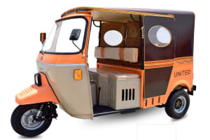 United Auto Rickshaw 200cc 3 Seater