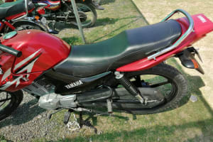 Yamaha ybr 125g red