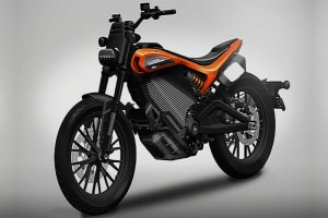Harley Davidson Unveiled Its Electric Bike Concept
