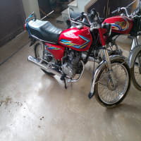 Honda CG 125 Model 2000 Multan Number Excellent Condition
