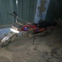 Sohrab red motorcycle
